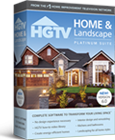 Home landscape platinum suite 6 0 hgtv software for Hgtv home design software tutorial