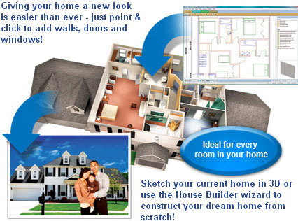 Home Designing & Decorating Software | Virtual Architect