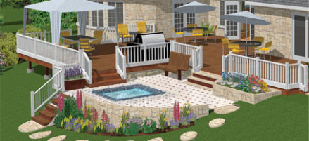 Garden Design Garden Design with Landscape Design Software HGTV