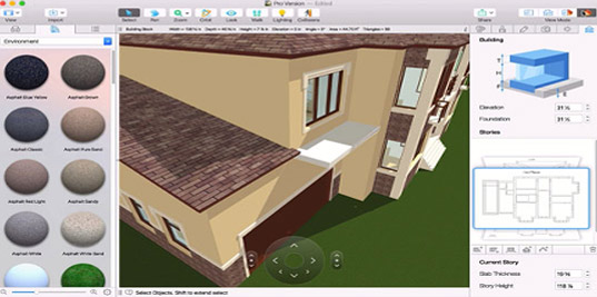 Home Design For Mac Professional Virtual Architect