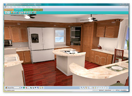 powerful 3d animation allows you to record an actual 3d tour through your living space that you can play back anytime - Virtual Home Designer