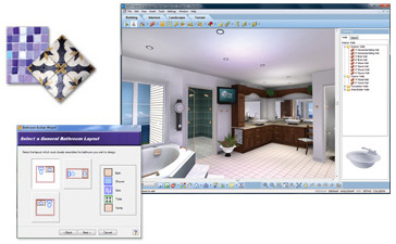 Interior Bathroom Design Software bathroom design software virtual architect builder wizard