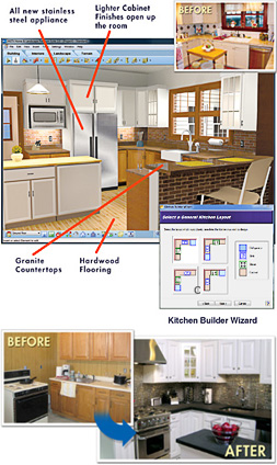 kitchen design software hgtv home amp landscape platinum suite 6 0 hgtv software 677