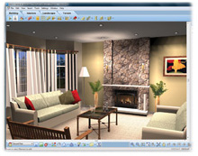 DIGITAL INTERIOR DESIGN Redecorate Rooms Using Your Digital Photos. Just  Point And Click To Choose Paint Colors, Stains, Fabrics And More From Our  Complete ...