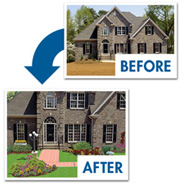 Add Landscaping To Digital Photo Visualizing Your New Landscaping Is Easy Just Import Your Digital Photos Add Fences And Accessories And Within Minutes