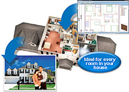 Ultimate home design software 8 0 virtual architect for Virtual architect ultimate home design