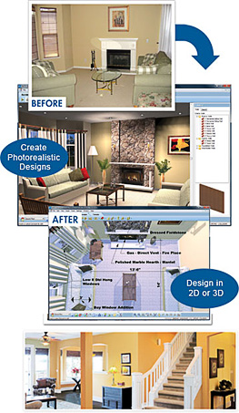 Home landscape software platinum suite 8 0 virtual for Virtual architect ultimate home design