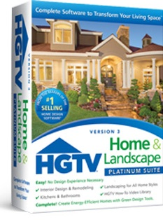 Hgtv home landscape platinum suite 3 Complete home design software