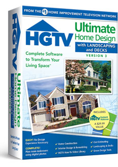 Hgtv ultimate home design with landscaping decks version 3 Complete home design software