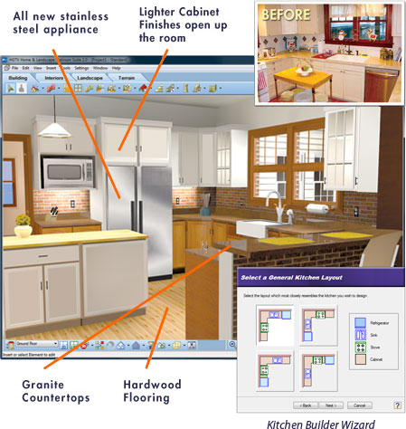 kitchen cad design software hgtv kitchen design software 6495