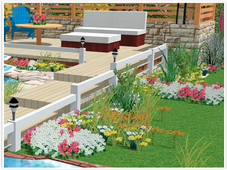 Garden design made easy with hgtv software - Best home and landscape design software ...