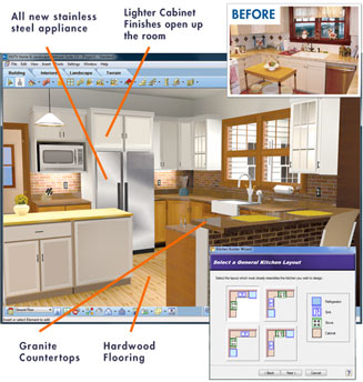 Kitchen Designer Software on Kitchen Design Software Gives You The Easy Yet Powerful Creative
