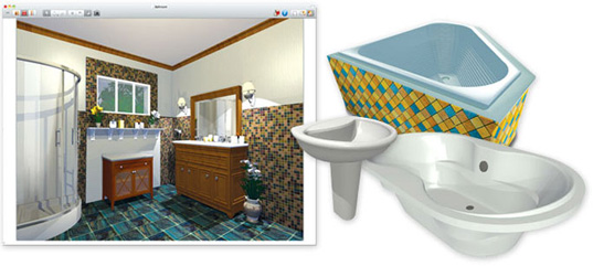 Versatile home design 3d software app mac version hgtv software for Hgtv home design software tutorial